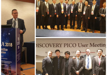 PRS Korea 2018 (Plastic and Reconstructive Surgery Meeting) and Discovery Pico User Meeting – Seoul – South Korea